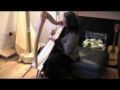 Weddings! I love my love in the morning played on Camac 27 string harp - YouTube