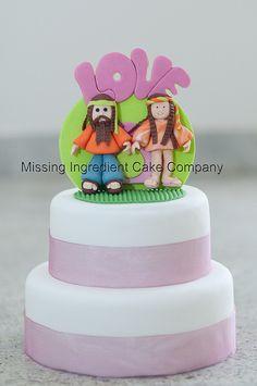Hippy Love Wedding Cake   Flickr – Condivisione di foto!