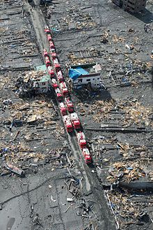 Aftermath of the 2011 East Japan Great Earthquake and Tsunami 東日本大震災の影響