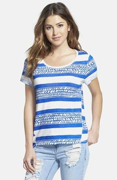 Lucky+Brand+'Vine+Stripe'+Top+available+at+#Nordstrom