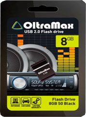 Флешка USB 2.0 OM 008GB 50 B MINI
