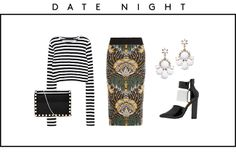 Not sure if I can pull off mix patterns. 4 Brilliant Outfits For Fall's Sharpest Shoes #Refinery29
