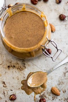 Don't spend a fortune on ready made nut butters, Making your own at home is so easy, and tastes so much better, too! Plus, you can create your own combos!