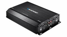 Blaupunkt EMA 455 480-Watt 4-Channel Amplifier by Blaupunkt. Save 13 Off!. $139.99. 640 watt 4 channel amplifier, 4 x 55 watts RMS or 4 x 110 watts Peak power, 2 x 165 watts RMS or 2 x 320 watts Peak power, includes on-board udjustable low pass crossover and fixed high pass crossover, up to +12db of bass boost at 45 Hz, accepts RCA line level and high level (speaker) inputs, dimensions 7.25-Inch x 2.1-Inch x 11.7""