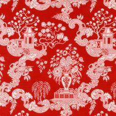 Omigosh I love this fabric for pillows!! - 'Spring' Robert Allen Fabrics