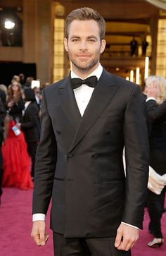 The Best Dressed Men of the 2013 Academy Awards, Chris Pine