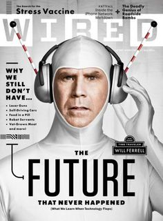 "cMag149 - Wired Magazine cover ""Will Ferrell"" by Wyatt Mitchell / July 2010"