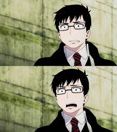 Lol Yukio's expressions are great | Ao no Exorcist