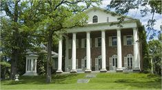 NEW YORK   l   Gore VIdal's home, Edgewater, in the Hudson River Valley town of Barrytown, New York.
