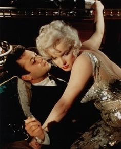 Tumblr Tony Curtis, Becoming An Actress, Some Like It Hot, Marilyn Monroe Photos, Norma Jeane, Getting To Know You, Film, Actresses, Concert