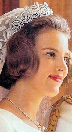 Queen Anne Marie of Greece nee Princess of Denmark