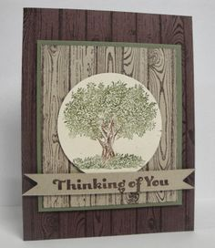 Stampin' Up!- 'Look Up Father'  Great Guy card.