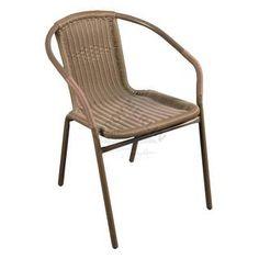 Krzesło z oparciem plecionym JLC308 MASTERGRILL&PARTY Outdoor Garden Furniture, Outdoor Chairs, Outdoor Decor, Future, Home Decor, Future Tense, Decoration Home, Room Decor, Lawn Furniture