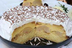 Tort de mere cu crema de zahar ars on http://miremirc.ro