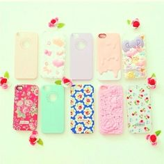 I want every case Cool Iphone 5 Cases, Ipod 5 Cases, Girly Phone Cases, Ipad Tablet, Ipad Case, My Home Design, Cute Cases, Iphone Accessories, Girly Things