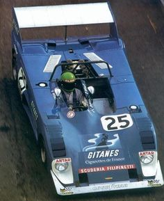 Reine Wisell / Jean-Louis Lafosse - Lola T282 Ford - Scuderia Filipinetti - 6 Ore di Vallelunga, Trofeo Marlboro - Vallelunga 6 Hours - 1973 World Championship for Makes, round 2