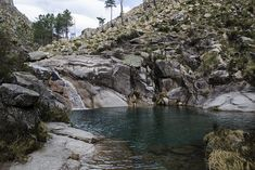 Poço azul, rio conho - Terras de Bouro