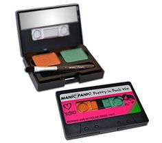 Manic Panic Old Retro Cassette Makeup Box Eye Shadow 80's Style (SIDE A) -- Be sure to check out this awesome product.