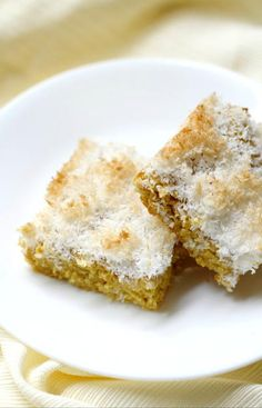 Mango Snack Cake with Toasted Coconut Crumb