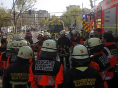 Quinta Normal emergencia química al interior de empresa moviliza a Bomberos - Publimetro Chile