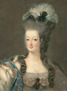 "Marie-Antoinette. Coiffure dite ""de la Reine"""