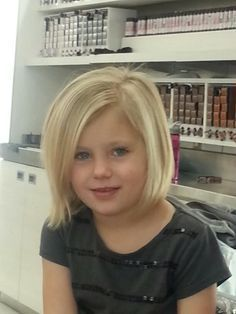 cool hair cuts for little girls with thin fine hair - Google Search...