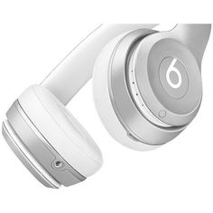 Beats Solo2 Wireless Headphones (Silver)   Beats By Dre ($285) ❤ liked on Polyvore featuring accessories, tech accessories, beats by dr dre headphones and beats by dr. dre