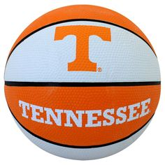 Get in the game with this Tennessee Volunteers mini basketball. Tennessee Volunteers Football, Oregon Ducks Football, Ohio State Football, Ohio State Buckeyes, Oklahoma Sooners, American Football, College Football, Lady Vols Basketball, Basketball Shorts Girls
