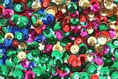 Textilgestaltung mit Pailletten