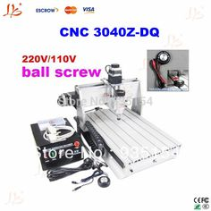 3 axis cnc router 3040 Z-DQ woodworking lathe cnc machine with ball screw