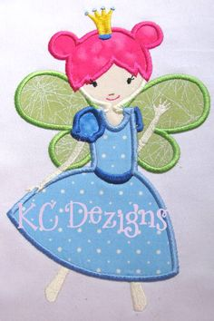 Princess Fairy 2 Applique