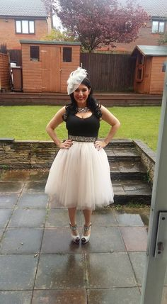 d3e5840bdf6882 We adore the look Kerry has created with her White Midi Tutu. Elsies Attic