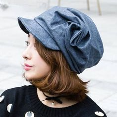https://www.buyhathats.com/ruched-flower-wool-newsboy-cap-women-warm-winter-hats.html