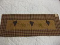 Heart Start Table Runner Matches Popular Heart Star Berry Country Decor 16 95