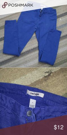 Refuge blue skinny jeans Only worn a handful of times. Size 6 skinny jeans Pants Skinny