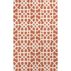 Found it at Wayfair - Tile Coral/Cream Indoor/Outdoor Area Rug