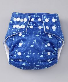 $11.00 Take a look at this Blue Icy Foxes Pocket Diaper by Lotus Bumz on #zulily today!  Just this and nothing more on a brand new little guy - until the parents trust me to be careful not to show any of the little guy parts.