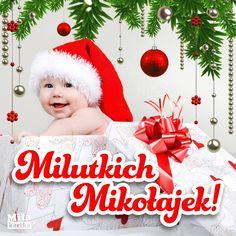 Kartka – Milutkich Mikołajek! #bożenarodzenie #polska #dziecko #maluch #baby #christmas #sylwester #święto #wigilia #choinka #prezenty Christmas Ornaments, Holiday Decor, Funny, Christmas Jewelry, Funny Parenting, Christmas Decorations, Hilarious, Christmas Decor, Fun