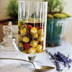 Marinated Goat Cheese, Olives, Artichokes and Tomatoes - French Picnic on Food & Wine Appetizer Dips, Appetizer Recipes, French Picnic, Goat Cheese Recipes, Cheesy Recipes, Cheese Ravioli, Wine Cheese, Cheese Food, Hors D'oeuvres