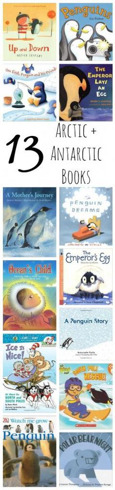 Arctic + Antarctic Themed Books for Preschool (+ Lesson Plans)
