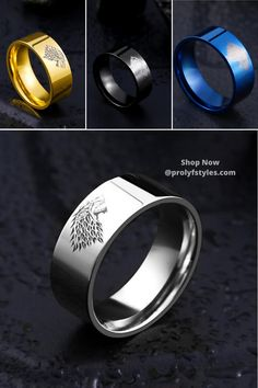 Make a distinguish fashion statement in the men's stainless steel ring. A unique men's fashion ring is stylish and chic. fashion ring for men Unique Mens Rings, Rings For Men, Superman Ring, Fashion Rings, Men's Fashion, Promise Rings For Guys, Mens Stainless Steel Rings, Trendy Mens Fashion, Mens Jewellery