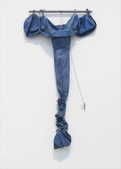 Soft Drainpipe - Blue (Cool) Version ~ 1967 ~ Acrylic paint on canvas and steel ~ × × cm ~ Tate, London Blue Painting, Acrylic Painting Canvas, Tv Movie, Claes Oldenburg, No Way Out, Man Ray, Japanese Artists, Blue Art, Soft Sculpture