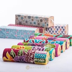 batik roll cakes - batik rolls