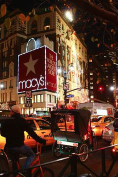 Macy's. I worked as a Seasonal Visual Merchandiser at Macy's Water Tower Place, Chicago.