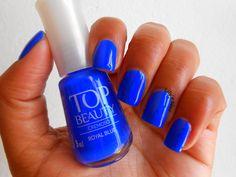 Lily's Nail: Royal Blue - Top Beauty