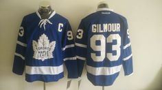 Men s Toronto Maple Leafs  93 Doug Gilmour Royal Blue 2016-17 Home 100TH  Anniversary e7bbe39b3