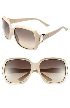Gucci 60mm Sunglasses available at #Nordstrom