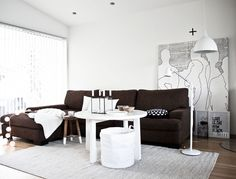 scandinavian home | ... beautiful white modern scandinavian home the resident is a norwegian