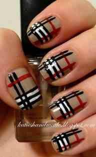 burbery nails