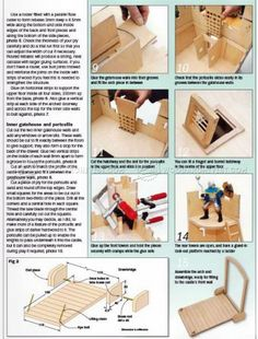 #577 Wooden Castle Plans - Wooden Toy Plans